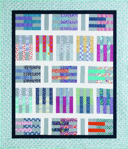 Pick-Up Sticks design by Sarah Price for It's Sew Emma