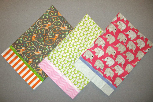 Pillowcases For Presents Free Pattern The Quilting Company