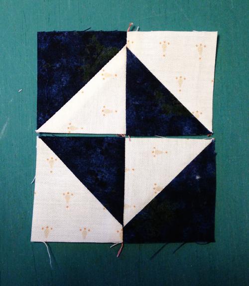 pinwheel10 Decembers QM Bitty Blocks: Pinwheels