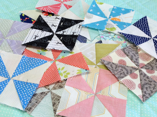 pinwheel15 The Bitty Blocks of 2015: Free Quilt Block Patterns