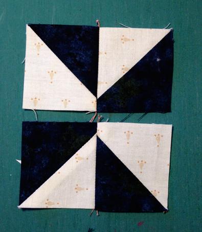 pinwheel91 Decembers QM Bitty Blocks: Pinwheels