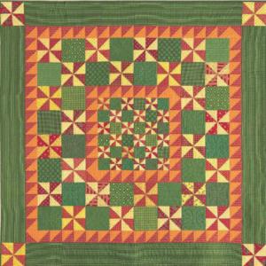 Fat Quarter Friendly Pinwheel Quilt Pattern