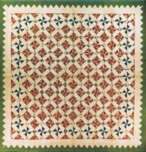 Antique Pinwheel Quilt Pattern
