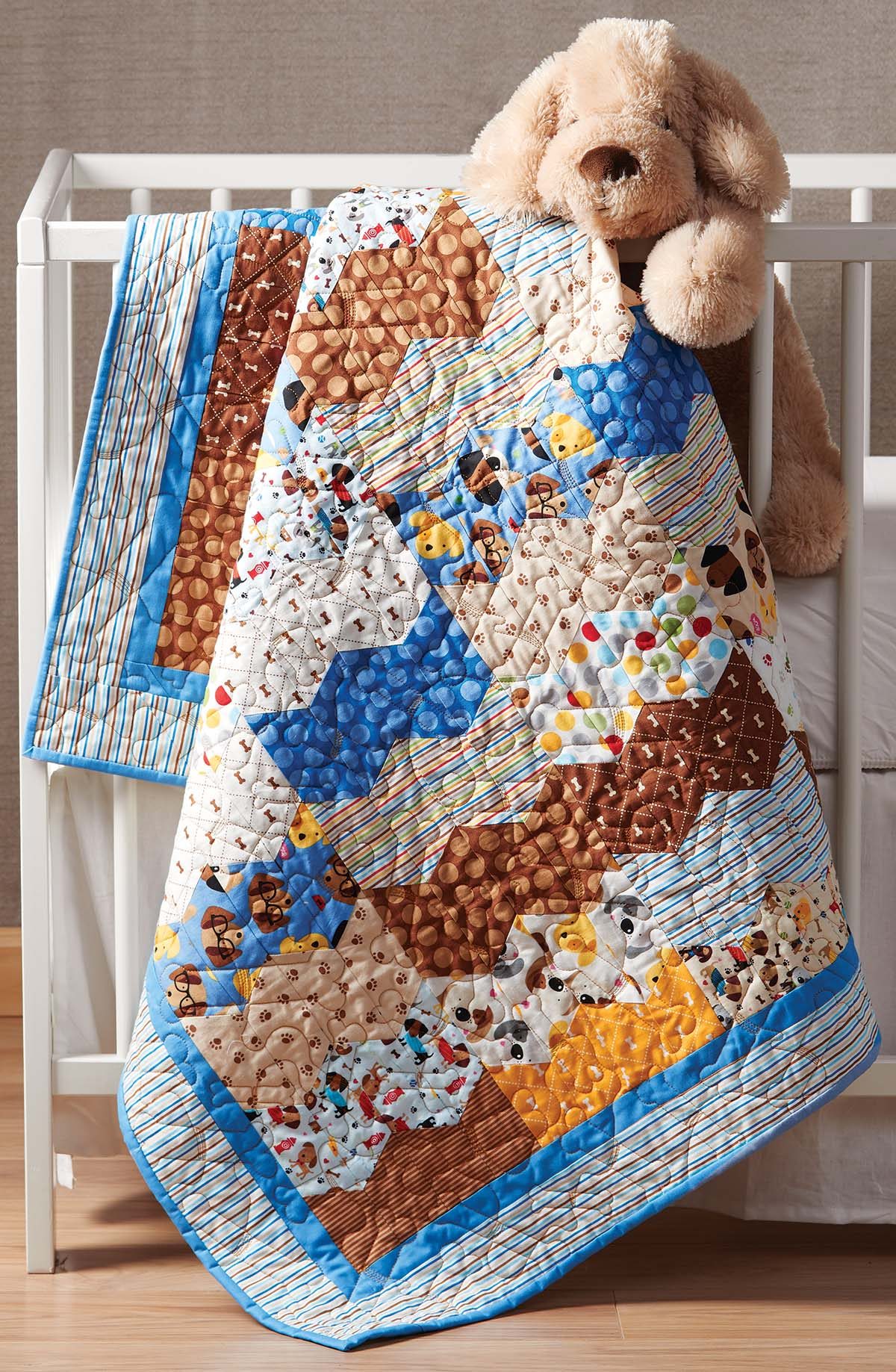 Puppy Love Quilt Fons Amp Porter The Quilting Company