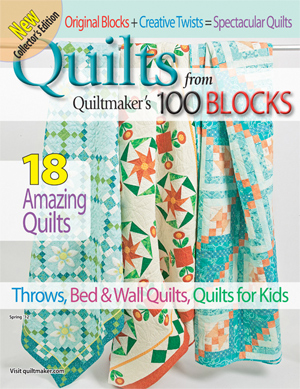 qf100sp12 Its a Guy Thing: Quiltmakers 100 Blocks GIVEAWAY!!!