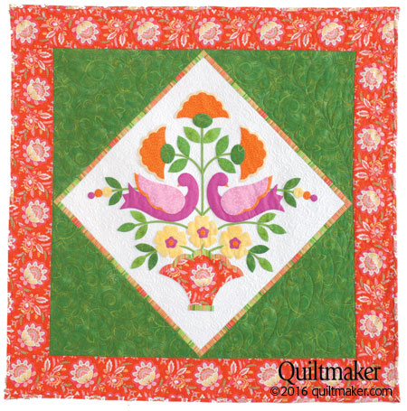 qm1604 sweet flat450 New Issue: Quiltmaker March/April 2016