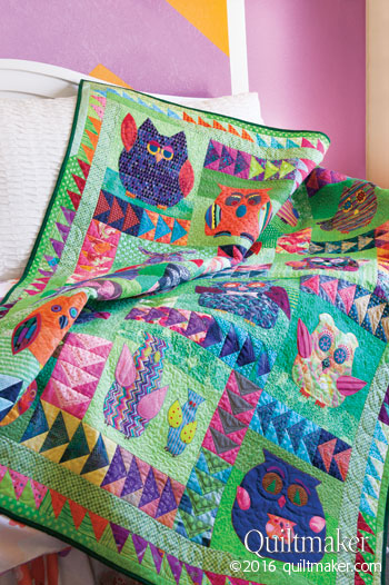 qm1604 swoopers style350 New Issue: Quiltmaker March/April 2016