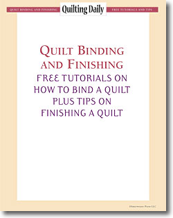Free Quilt Binding and Finishing eBook