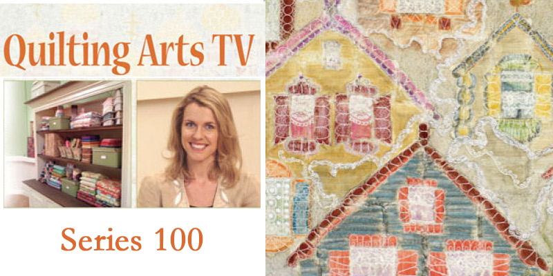 Quilting Arts Tv Series 100 The Quilting Company