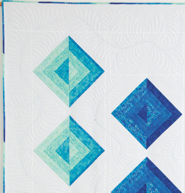 quilting detail 600px Bevels: A Visit with Patti Carey