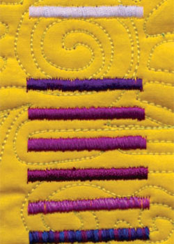 Discover all sorts of sewing machine and quilting stitches, including satin stitch, free.