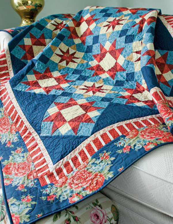Free Red White And Blue Quilt Patterns The Quilting Company