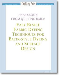 Free Batik-style Dyeing & Surface Design eBook