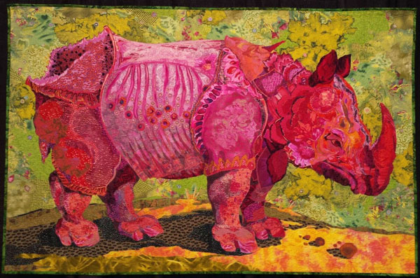 rhino Photos of Quilts from International Quilt Festival 2016