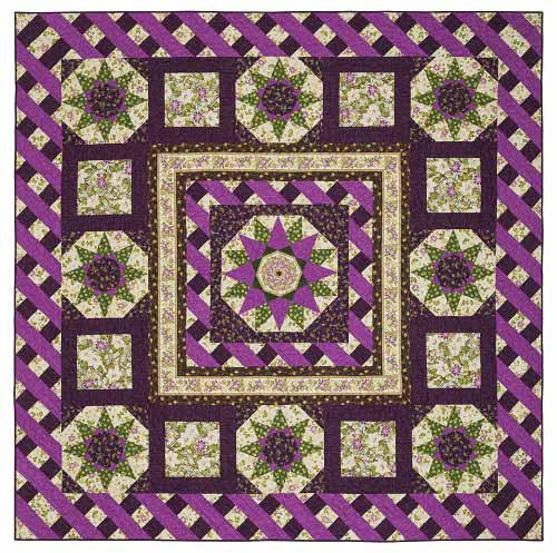 ribbon floral The Best Block Of The Month Quilts Of 2017