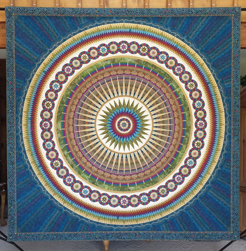 Saturday morning quilt break diary of a prize winning quilter sherry reynolds knows a thing or two about show quilts that is quilts made specifically to be entered into major quilt competitions baditri Choice Image