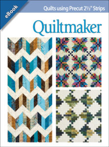 "<i>Quilts Using Precut 2½"" Strips</i>, Designs by Scott Flanagan, 4th & Main Designs"