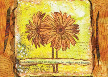 Scrap Memory Quilt: Scrap Wisdom- Collage Journal Quilting by Margaret Applin