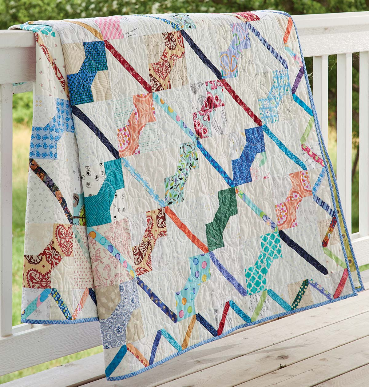 scrap-quilts-fall-2017-Bow-Tie-on-Parade