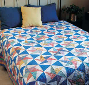 Bed Sized Scrap Quilt