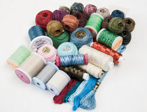 Learn how to select the right thread for your hand quilting pattern