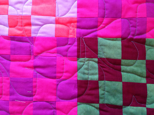 sissies3 Learning to Quilt on a Longarm