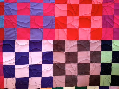 sissies5 Learning to Quilt on a Longarm