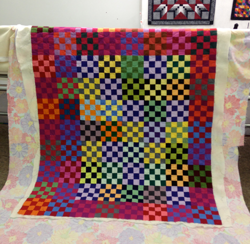 sissies9 Learning to Quilt on a Longarm