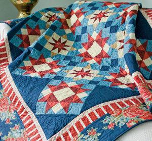 Star Harbor summer quilt pattern is free
