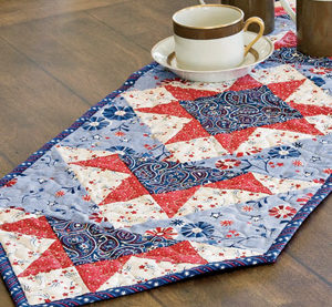 Free summer quilt pattern: Star Spangled