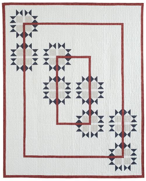 Stars and Bars design by Bev Getschel