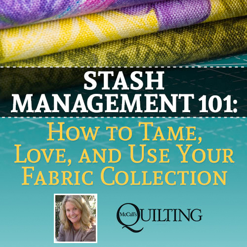 stash101 Stash Management 101: Tame Your Quilting Fabric