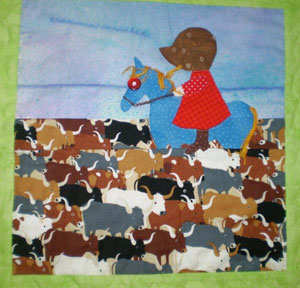 suehorse Sunbonnet Sue: Pick a Side! and a Giveaway