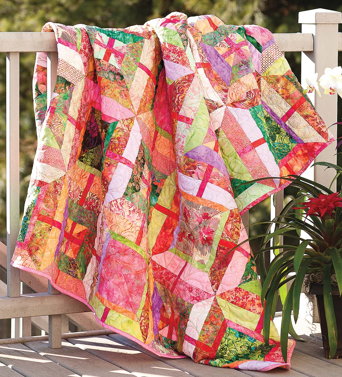Summer Sorbet Quilt Fons Amp Porter The Quilting Company