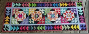 table runner Wanderlust with Bonnie Hunter   new online quilt course