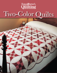 Free two-color quilting projects