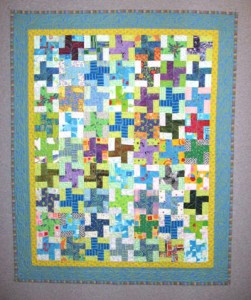 ufo5crib1 251x300 Little Christmas Windmills: Free Quilt Pattern