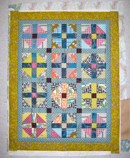 whirligig How should I quilt it? and a Giveaway