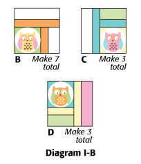 Whoo's the Cutest? corrected diagrams
