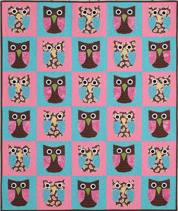 Quilting Patterns And Notions : Whoo s Ready for Summer Owl-Themed Quilt Project - The Quilting Company