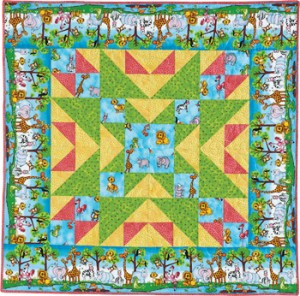 zooparade 350 300x296 Big Block Baby Quilts