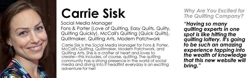 Carrie Sisk