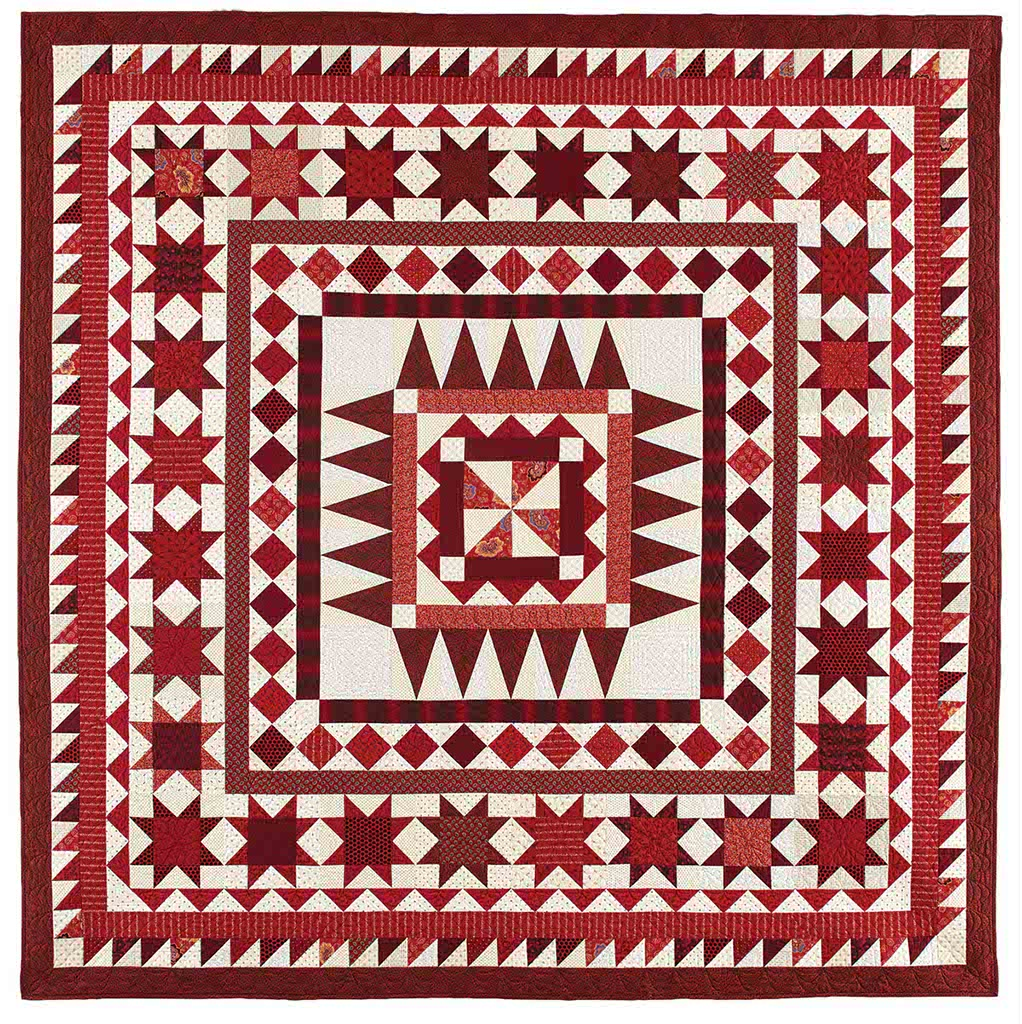 Quilt design galleries the quilting company for Red door design quilts