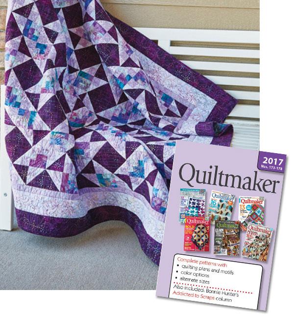 Quiltmaker Magazine 2017 CD
