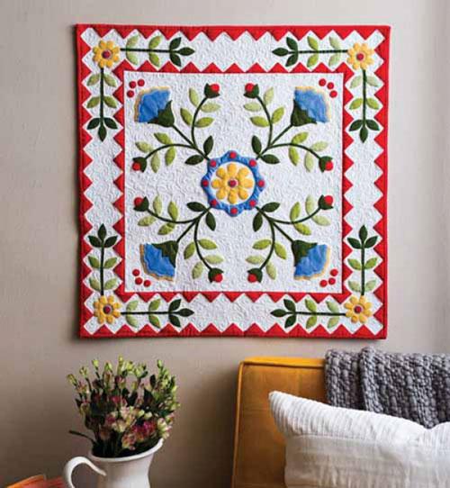 Quiltmaker Magazine - Bloomin' Botanicals Quilt Kit