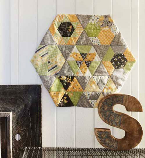 Quiltmaker Magazine -Hexed Quilt Kit with Project Bag
