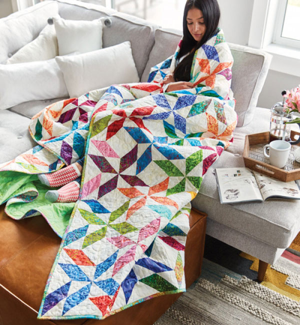 Quiltmaker Magazine - Spinners Quilt Pattern Download