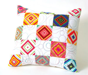 Uptown Stripes - Free Pillow Pattern