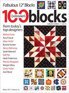 Quiltmaker's 100 Blocks, Volume 16