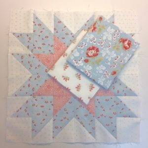 I Love This Quilt! Silhouette Stars Block 2